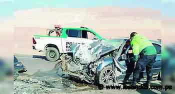 Dos muertos y dos heridos en diferentes accidentes en vías de Camaná - Los Andes Perú