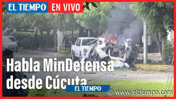 En vivo: Declaraciones del Ministro de Defensa desde Cúcuta - El Tiempo