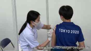 Olympia: Volunteers und Tokio-Offizielle werden geimpft