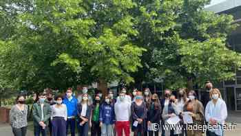 Saint-Orens-de-Gameville : les lycéens font la promo d'une nouvelle appli - ladepeche.fr