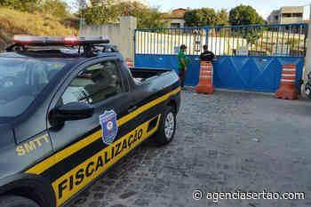 Prefeitura de Brumado interditou garagem da empresa Novo Horizonte - Agência Sertão