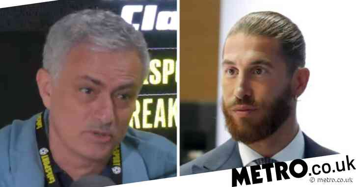 Jose Mourinho backs Sergio Ramos to succeed in Premier League amid Manchester United and Chelsea links