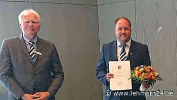 Heiligenhafener wird vom Land mit Freiherr-vom-Stein-Verdienstnadel ausgezeichnet - fehmarn24.de