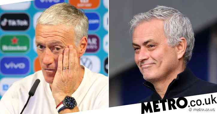 Jose Mourinho takes fresh swipe at France manager Didier Deschamps