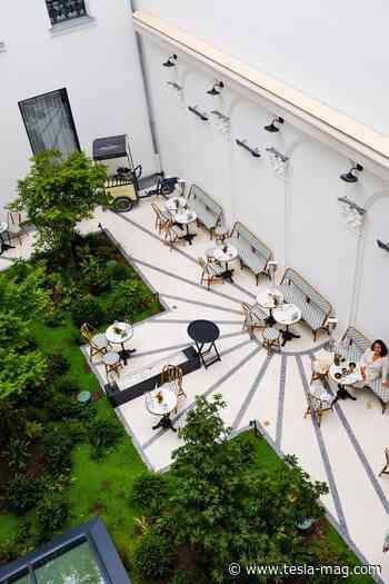 Hôtels - La table du Vendome - Maison Albar Hotels - Tesla Magazine