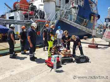 Esercitazione antincendio in porto a Pozzallo | Radio RTM Modica - Radio RTM Modica