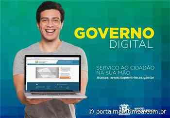 Itapemirim/ES – Itapemirim: Mais de 50 serviços on-line estão disponíveis para população - Portal Maratimba