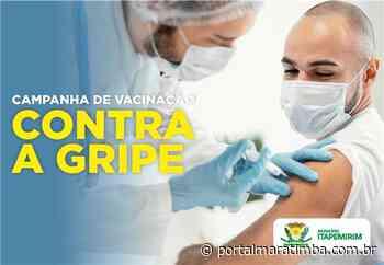 Itapemirim/ES – Vacinação contra a Influenza entra na reta final de campanha - Portal Maratimba