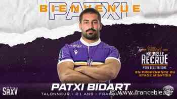 Une nouvelle recrue pour le SA XV : le talonneur Patxi Bidart a signé pour deux saisons - France Bleu