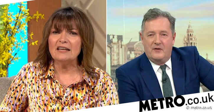 'I have no doubt': Lorraine Kelly boldly predicts Piers Morgan will return to Good Morning Britain despite explosive exit over Meghan Markle row
