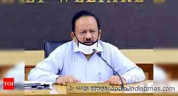 Coronavirus live updates: Citizens let down their guard, leading to second wave, says Harsh Vardhan - Times of India