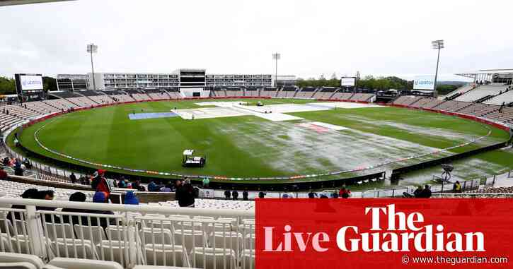 India v New Zealand: World Test Championship final, day one abandoned –as it happened