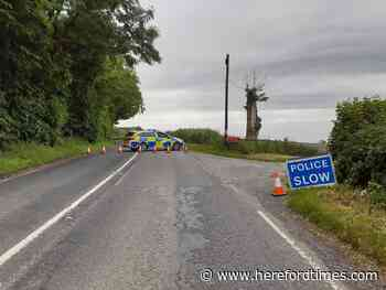 Biker suffers 'significant injuries' in Herefordshire crash