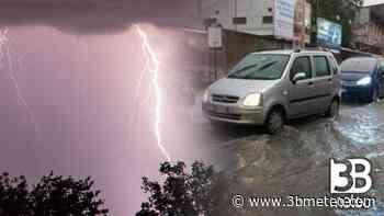 CRONACA METEO - Forti temporali mercoledì sera in Piemonte. La situazione a Collegno, in provincia di TORINO - VIDEO - 3bmeteo
