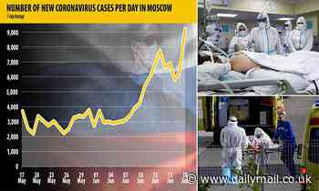 Moscow records 9,056 new Covid cases - its highest ever