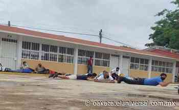 Grupo armado roba boletas en Lagunas, Oaxaca; funcionarios de casilla terminan pecho tierra | Oaxaca - El Universal Oaxaca