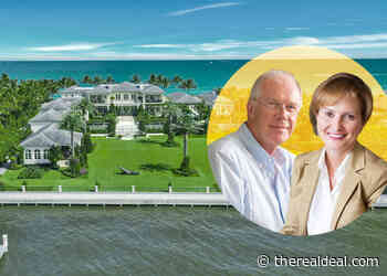 German entrepreneur sells oceanfront Palm Beach estate for $110M - The Real Deal