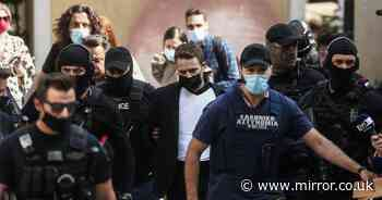 Husband in court in bulletproof vest after confessing to Brit mum's murder