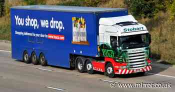 Tesco suppliers binning almost 50 tonnes of food weekly in HGV driver crisis