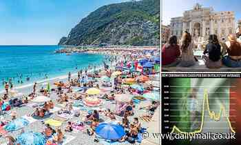 Another summer holiday blow for Britons as Italy imposes five-day quarantine for UK visitors