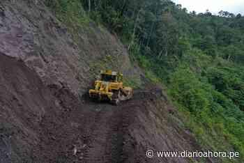Mejoran carreteras en el distrito Soritor - DIARIO AHORA