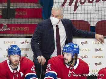 Canadiens coach Dominique Ducharme isolating after irregularities in COVID-19 testing