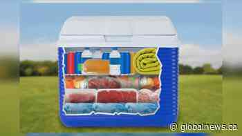 Learn how to pack a cooler to keep food safe