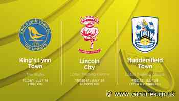 Club announces part of 2021-22 pre-season schedule