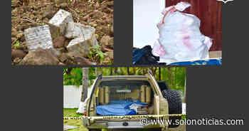 $18 Millones en droga incautados en zonas costeras de San Miguel y La Paz - Solo Noticias