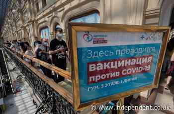 Moscow registers record Covid-19 cases amid stuttering vaccination programme