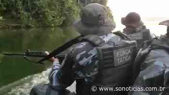 Força Tática de Sinop faz buscas no rio e BOPE em mata atrás de assaltantes de cooperativas no Nortão - Só Notícias