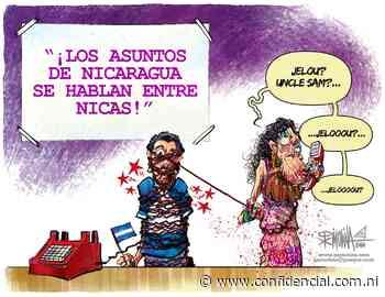 """Caricatura del día   Llamada desde El Carmen: """"Jelou Uncle Sam"""" - Confidencial"""