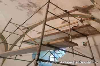 Dañan lluvias seis salas del Complejo Cultural El Carmen - Puebla - - La Jornada de Oriente