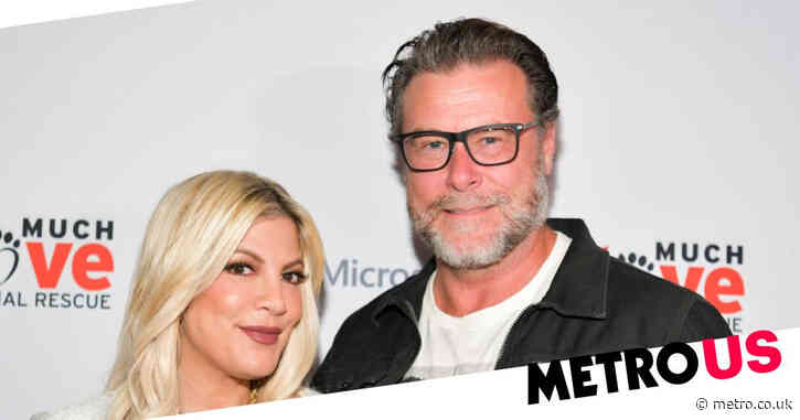 Tori Spelling reveals she and husband Dean McDermott are sleeping in separate rooms amid divorce rumors