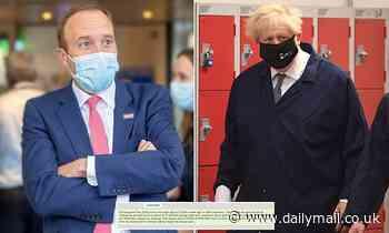 Boris insists he has 'complete confidence' in Matt Hancock