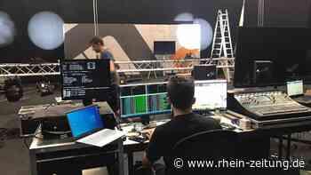 In der Messe Idar-Oberstein entsteht ein Fernsehstudio: Digitale Baumesse startet am Freitag um 14.30 Uhr - Rhein-Zeitung