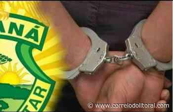 PM prende procurado por homicídio em Matinhos e traficante em Guaratuba - Correio do Litoral