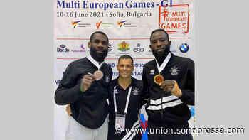 Multi european games de taekwondo : Antony Obame encore en bronze - L'UNION