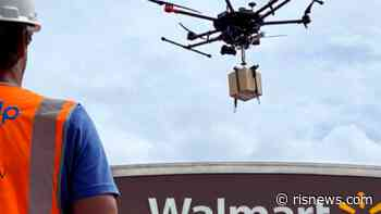 Walmart Opening Drone Operations in Bentonville Store; Intros QR-Enabled Vaccine Records