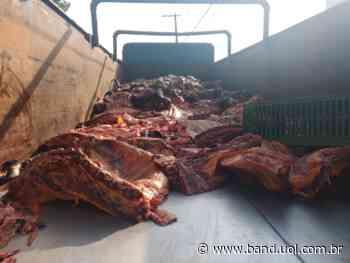 Trio é preso transportando carnes ilegalmente em Pindamonhangaba - Band Jornalismo