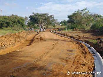 Nova via pública atrás do Colégio Anglo recebe guias em Pindamonhangaba - Vale News
