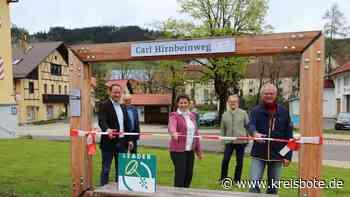 Rundum erneuert: Der Carl-Hirnbein-Wanderweg freut sich auf Entdecker - Kreisbote