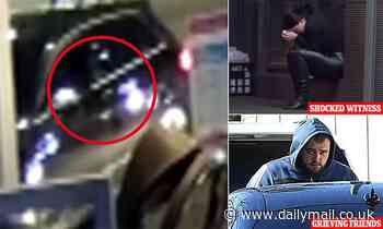 Moment Bilal Hamze is shot dead during drive-by attack in Sydney after being warned he was in danger