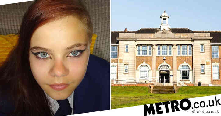 Schoolgirl, 13, 'isolated and threatened with exclusion' for wearing eyeliner