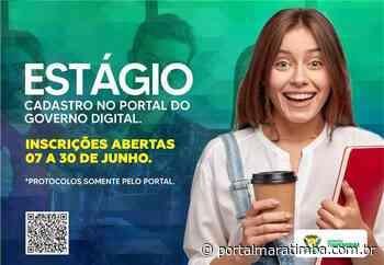 Itapemirim/ES – Itapemirim recebe protocolos para estágio até 30 de junho - Portal Maratimba
