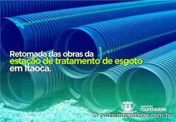 Itapemirim/ES – Itapemirim investe na retomada das obras da Estação de Tratamento de Esgoto em Itaoca - Portal Maratimba