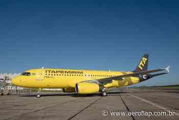 Itapemirim recebeu nesta segunda-feira (14) o quarto avião da sua frota - Aeroflap