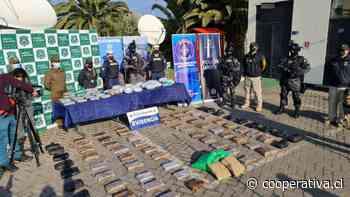 Cuatro personas fueron detenidas con droga avaluada en 1.500 millones de pesos rumbo a Valparaíso