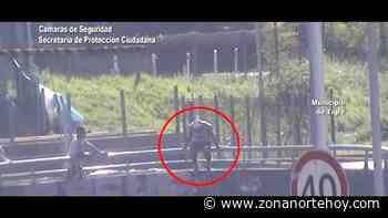 Las cámaras del COT evitaron un intento de suicidio en Ricardo Rojas - zonanortehoy.com