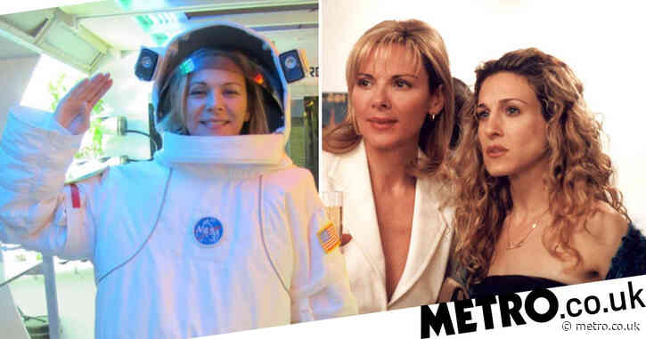 Kim Cattrall mocks Sex and the City absence as fans think she's heading to space over reboot